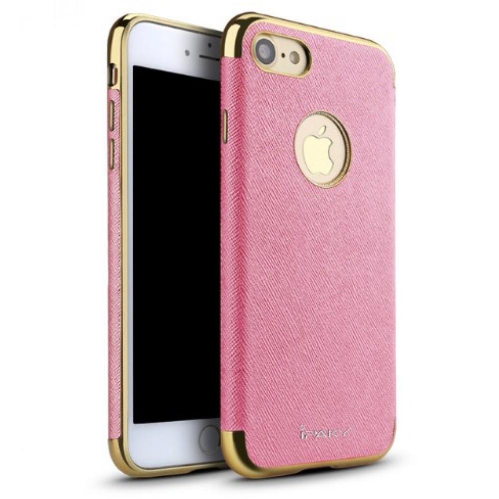 Θήκη iphone 7/8 iPaky Hybrid Σιλικόνης με Πλαστικό PC Πλαίσιο - 2252 - Ρόζ - OEM Θήκες Κινητών