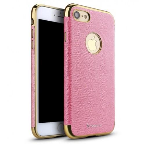 Θήκη iphone 7 iPaky Hybrid Σιλικόνης με Πλαστικό PC Πλαίσιο - 2252 - Ρόζ - OEM