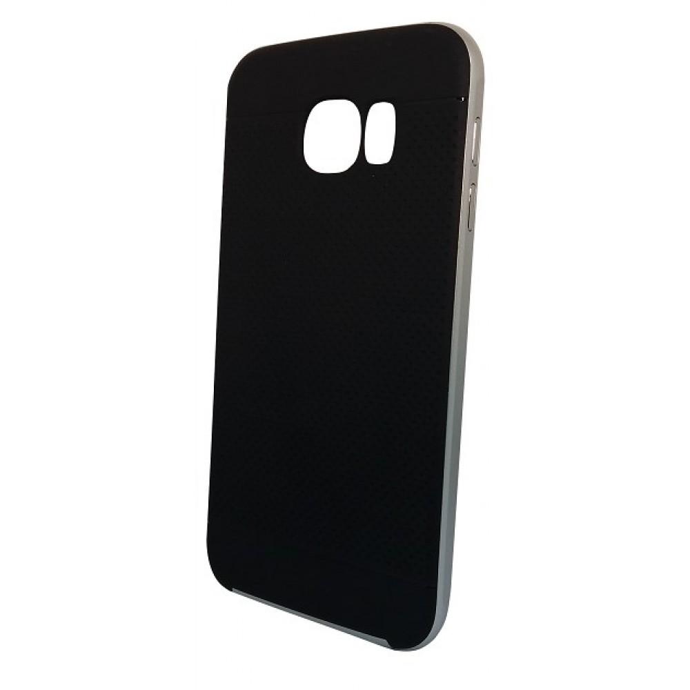 de12ecdcde Θήκη Samsung Galaxy S6 iPaky Hybrid Σιλικόνης με Πλαστικό PC Πλαίσιο - 2279  - Ασημί -