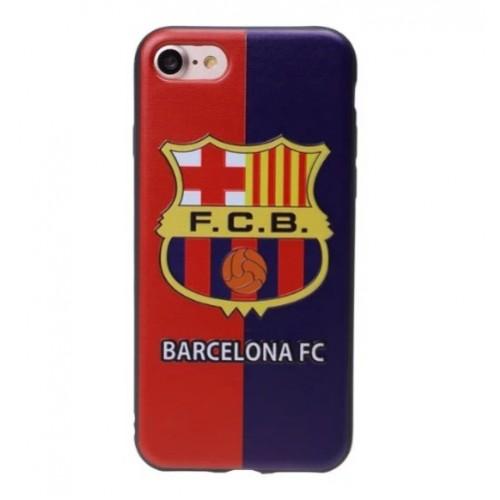Θήκη iphone 7/8 Σιλικόνης TPU - 2307 - Barcelona FC 3D - OEM