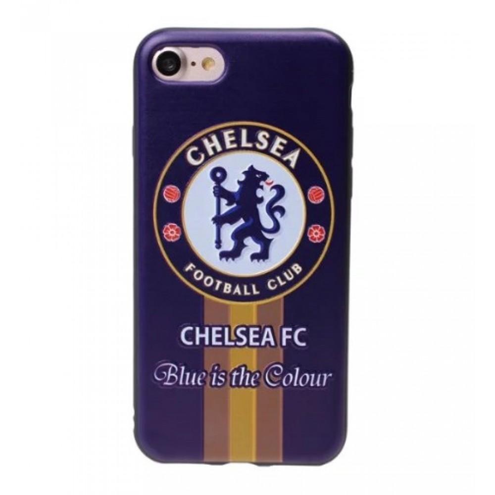 Θήκη iphone 7/8 Σιλικόνης TPU - 2309 - Chelsea FC 3D - OEM Θήκες Κινητών