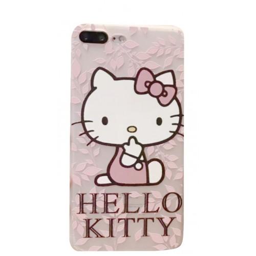 Θήκη iphone 7/8 Σιλικόνης 3D TPU Hello Kitty - 2636 - OEM