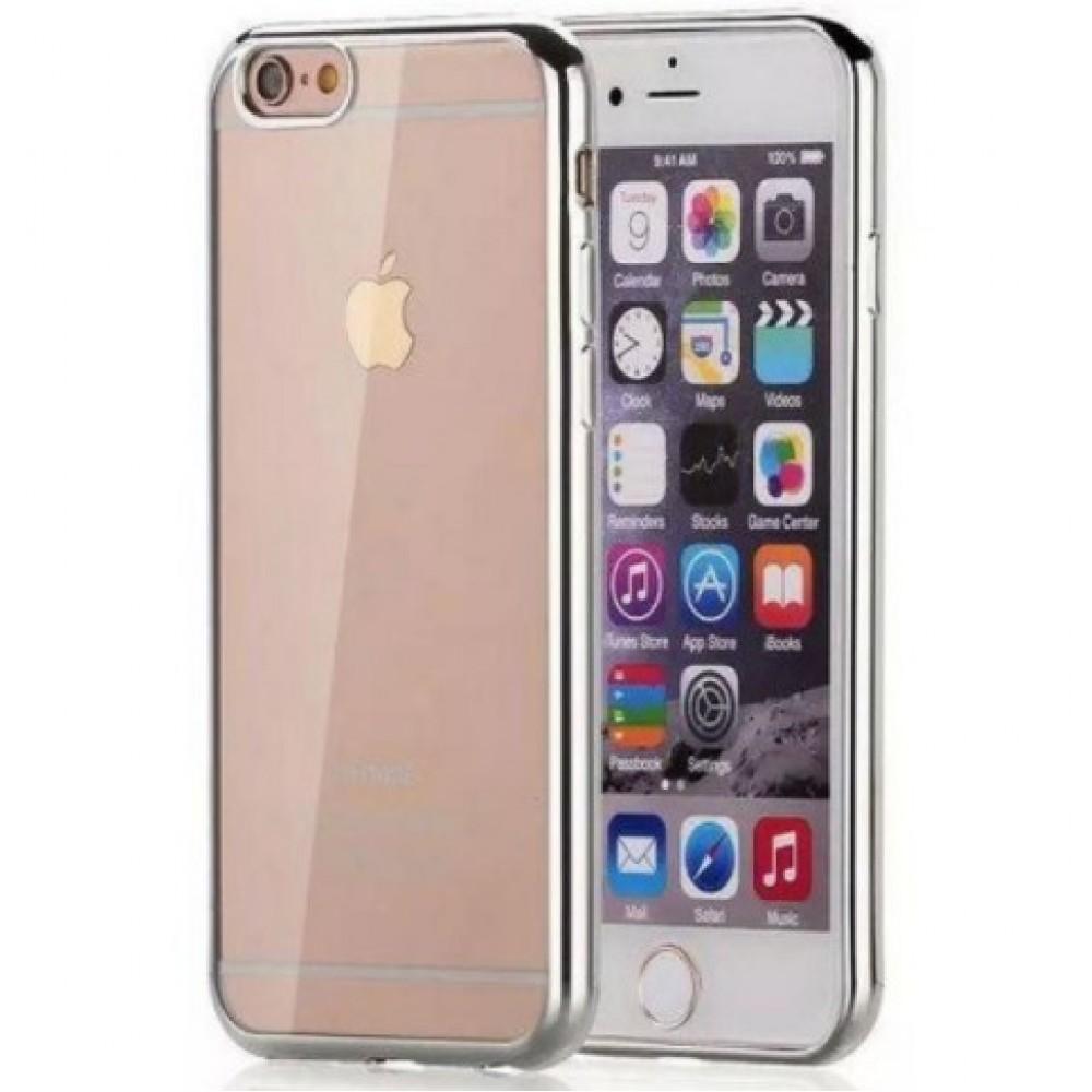 Θήκη iphone 7/8 Σιλικόνης TPU - 2655 - Ασημί - OEM Θήκες Κινητών