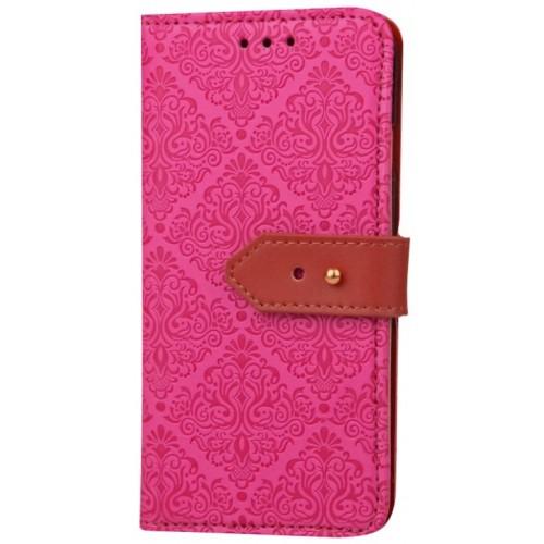 Θήκη Samsung Galaxy S8 PU Leather Πορτοφόλι flip Tribal - 2692 - Φούξια - OEM