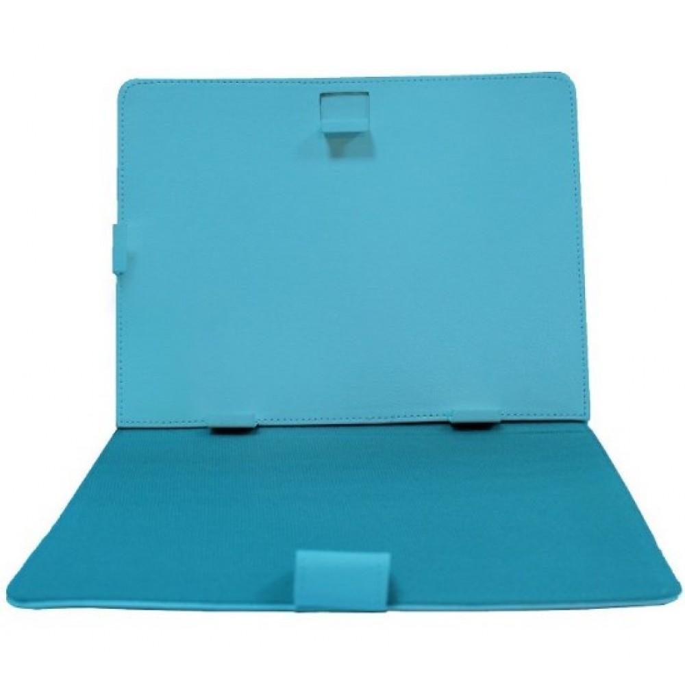 Θήκη Τάμπλετ Universal PU Leather έως 8 ίντσες- 2723 - Γαλάζιο - OEM Θήκες Tablet