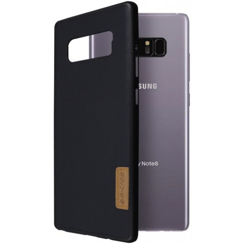Θήκη Samsung Galaxy Note 8 ( N950N ) G-CASE Dark serie Σιλικόνης TPU - 2971 - Sheep Skin - Μαύρο - OEM