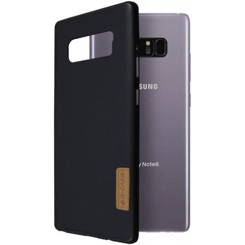 Θήκη Samsung Galaxy Note 8 ( N950N ) G-CASE Dark serie Σιλικόνης TPU - 2971 - Sheep Skin - Μαύρο - OEM