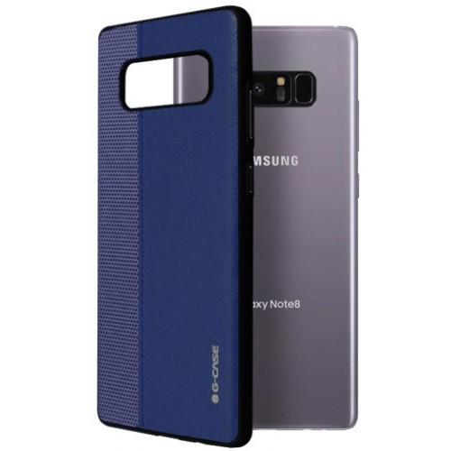 Θήκη Samsung Galaxy Note 8 ( N950N ) G-CASE Earl serie Σιλικόνης TPU - 2972 - Μπλέ - OEM