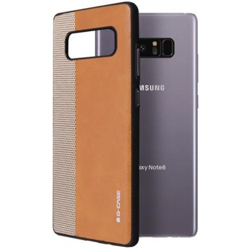 Θήκη Samsung Galaxy Note 8 ( N950N ) G-CASE Earl serie Σιλικόνης TPU - 2973 - Καφέ - OEM