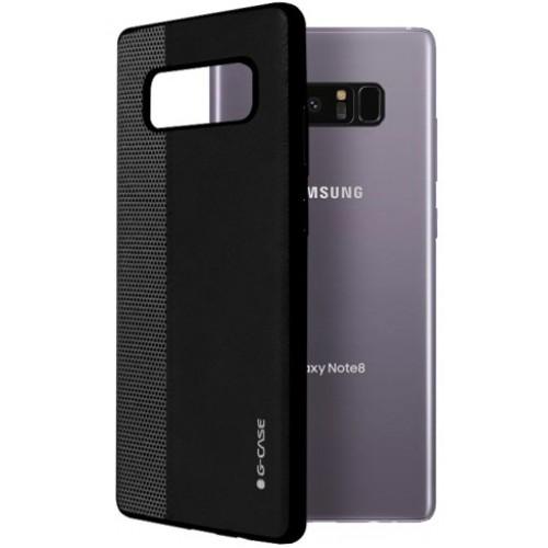 Θήκη Samsung Galaxy Note 8 ( N950N ) G-CASE Earl serie Σιλικόνης TPU - 2974 - Μαύρο - OEM