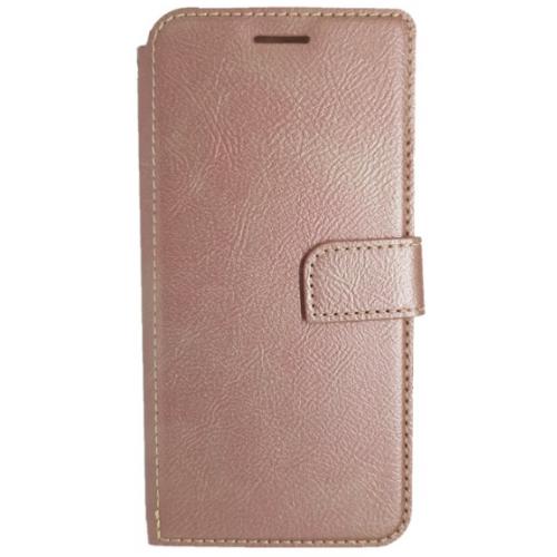 Θήκη Samsung Galaxy S9 (G960F) Star-Case ® Πορτοφόλι Soul - 3579 - Ροζ Χρυσό