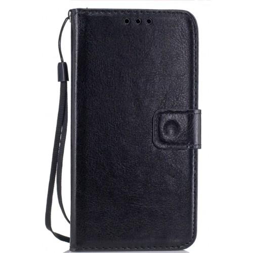 Θήκη Samsung Galaxy S9 (G960F) Luxury Flip Leather Πορτοφόλι  - 3622 - Μαύρο - OEM