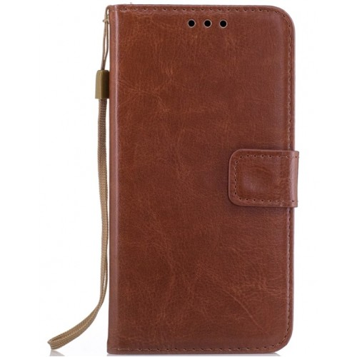 Θήκη Samsung Galaxy S9 Plus (G965F) Luxury Flip Leather Πορτοφόλι - 3626 - Καφέ - OEM
