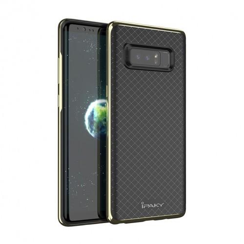 Θήκη Samsung Galaxy Note 8 ( N950N ) iPaky Bumblebee Neo Hybrid Σιλικόνης με Πλαστικό PC Πλαίσιο - 3680 - Χρυσό - OEM