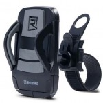 Universal Βάση στήριξης κινητού για ποδήλατο με ρυθμιζόμενο τράβηγμα RM-C08 - 3695 - Γκρι - Remax Αξεσουάρ Ποδηλάτου