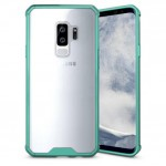 Θήκη Samsung Galaxy S9 (G960F) Shockproof Back Cover - 3698 - Διάφανο Πράσινο - OEM Θήκες Κινητών
