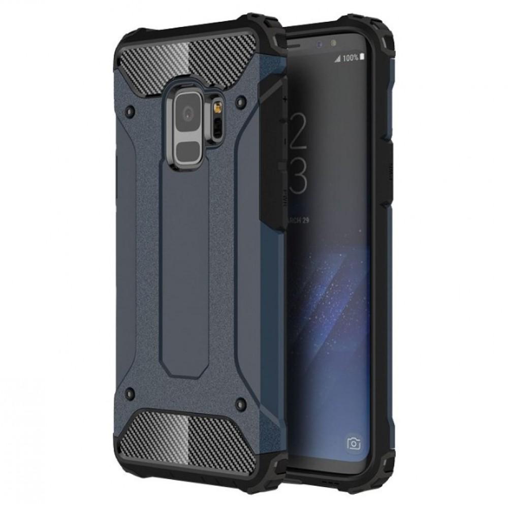 Θήκη Samsung Galaxy S9 (G960F) Hybrid Armor Σιλικόνης και Σκληρό πλαστικό (PC & TPU) - 3777 - Σκούρο Μπλέ - OEM Θήκες Κινητών
