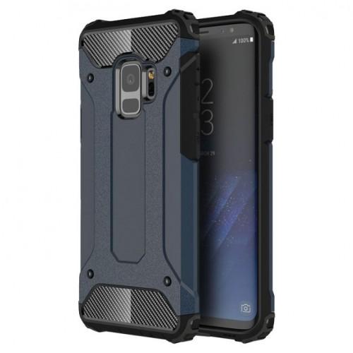 Θήκη Samsung Galaxy S9 (G960F) Hybrid Armor Σιλικόνης και Σκληρό πλαστικό (PC & TPU) - 3777 - Σκούρο Μπλέ - OEM