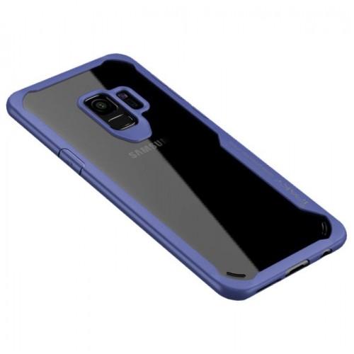Θήκη Samsung Galaxy S9 (G960F) iPaky Frame Hybrid Σκληρή Πλαστική - 3784 - Μπλέ - OEM