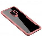 Θήκη Samsung Galaxy S9 (G960F) iPaky Frame Hybrid Σκληρή Πλαστική - 3785 - Ροζ - OEM Θήκες Κινητών