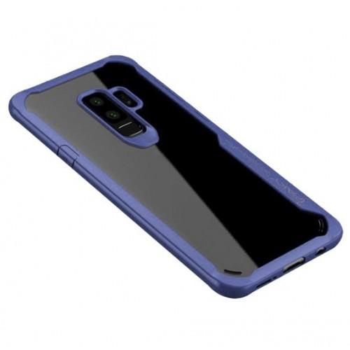 Θήκη Samsung Galaxy S9 Plus (G965F) iPaky Frame Hybrid Σκληρή Πλαστική - 3787 - Μπλέ - OEM