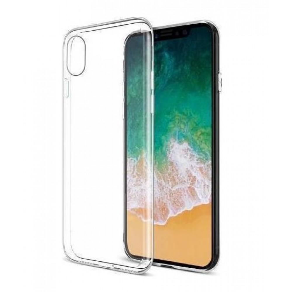 Θήκη iphone X/XS Σιλικόνης TPU - 4022 - Διάφανο - ΟΕΜ Θήκες Κινητών