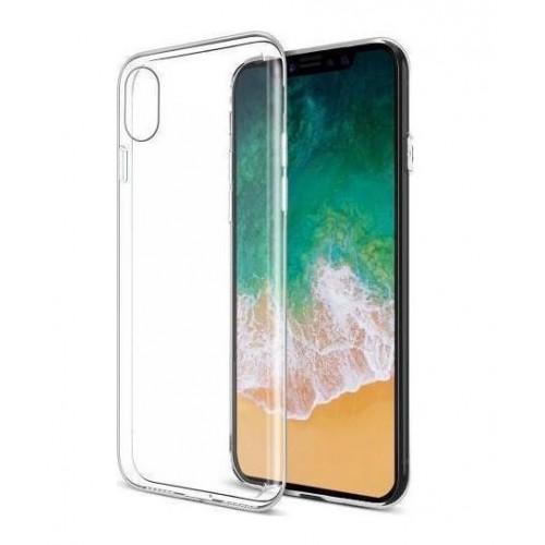 Θήκη iphone X/XS Σιλικόνης TPU - 4022 - Διάφανο - ΟΕΜ