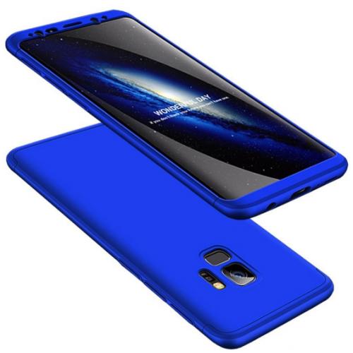 Θήκη Samsung Galaxy S9 (G960F) Full Body GKK 360° Σκληρή Πλαστική - 3927 - Μπλέ - ΟΕΜ