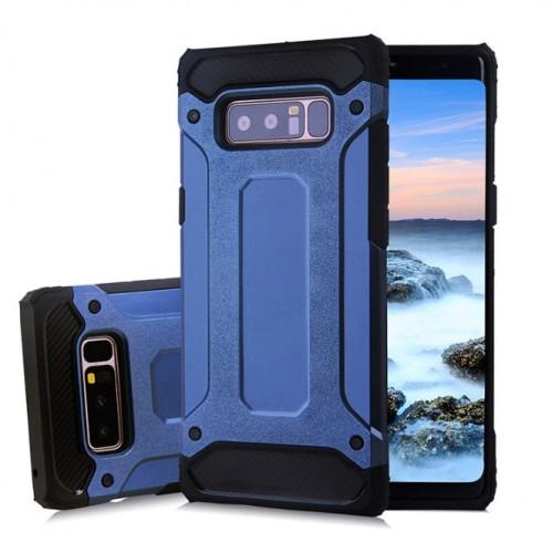 Θήκη Samsung Galaxy Note 8 ( N950N ) Hybrid Armor Σιλικόνης και Σκληρό πλαστικό (PC & TPU) - 3874 - Σκούρο Μπλε - OEM