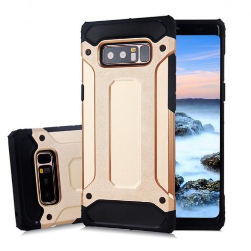 Θήκη Samsung Galaxy Note 8 ( N950N ) Hybrid Armor Σιλικόνης και Σκληρό πλαστικό (PC & TPU) - 3875 - Χρυσό - OEM