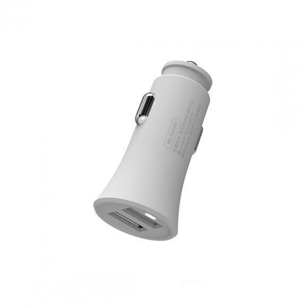 Car Charger WK 2.4A USBx2 White WP-C13 Αξεσουάρ